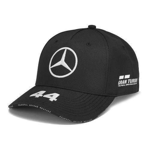 Mercedes-AMG Petronas Motorsport 2019 F1TM. Lewis Hamilton Kappe - Schwarz