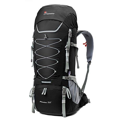 9bd4732e63 Mountaintop 75L Zaino Trekking Impermeabile Escursionismo montagna  campeggio alpinismo viaggio