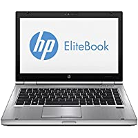 HP EliteBook 8460P ricondizionato portatile, Intel Core i5 2.50 GHz, 4 GB RAM, 250 GB HDD, DVD/RW con Windows 7 Professional (Microsoft Certified Refurbished)