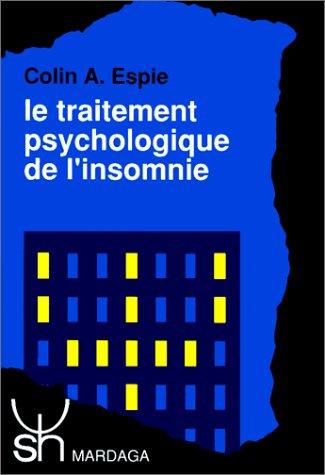 Le traitement psychologique de l'insomnie