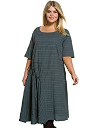 Ulla Popken Damen Grandes tailles Robe 706437