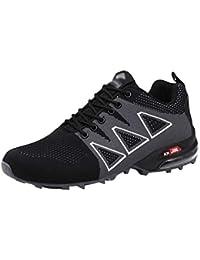 Yuanu Zapatillas De Senderismo Impermeables para Hombre,De Ocio Al Aire Libre Zapatos De Deporte Zapatillas De Senderismo