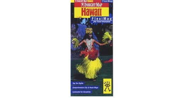 Hawaii Insight Fleximap (Insight Flexi Maps): Amazon.de ...