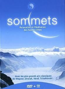 Bien-être & Relaxation : Sommets [DVD + CD] [Import italien]