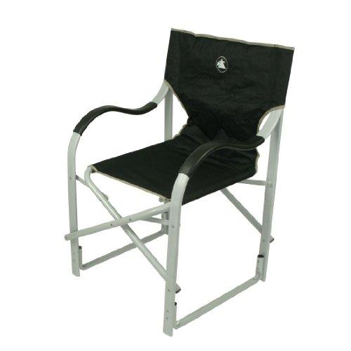 10T Alloydirector - Alu Camping-Stuhl Regiestuhl mit Armlehnen faltbar 3900g leicht