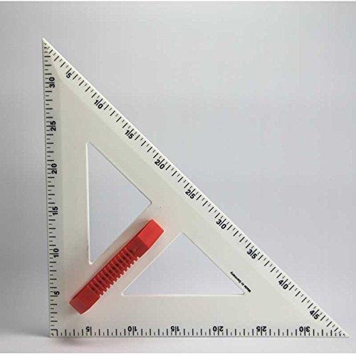 FTM® Profi-Line Rechter Winkel 50cm Zeichengerät für Tafel und Whiteboard mit Griff, Schulbedarf und Lehrmittel