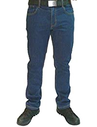 Mens Lee Cooper 218 Denim Blue Stretch Work Jeans Classic Fit 5 Pocket Hardwearing Denim Trouser Pants Stonewash Designer Vintage Casual Comfort SHORT LEG 30-42'' Waist