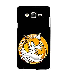 Fuson Designer Back Case Cover for Samsung Galaxy On5 (2015) :: Samsung Galaxy On 5 G500Fy (2015) (Fox Squirrel Funny Humorous Comic)