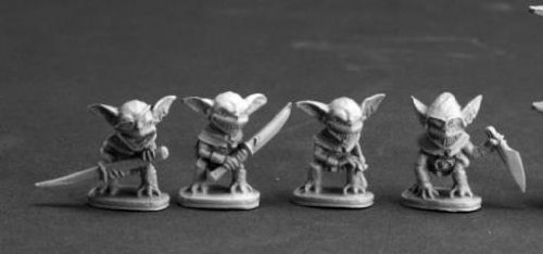 Gremlins (4) Miniature by Reaper
