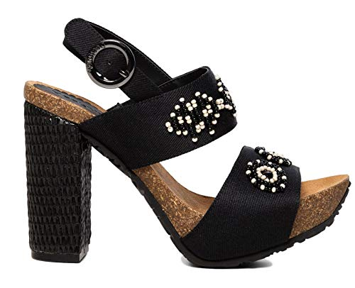 Desigual Scarpe donna shoes carioca beads bn 19sshf06 39 nero