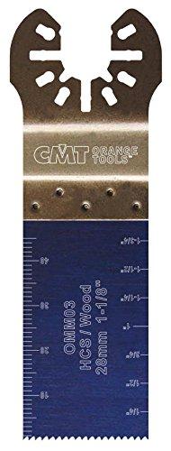 CMT :Lame 28 mm plongeante et de coupe à ras / bois multi-marques OMM03