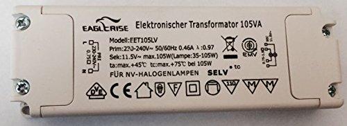 Eaglerise Elektronischer Transformator EET105LV 35 - 105 Watt VA