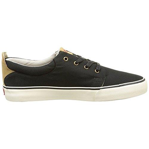 Levi's Justin 223286 736, Herren Sneakers Schwarz