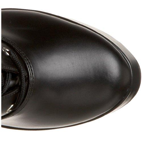 Pleaser Electra-2029 Plateau Stiefel schwarz Schwarz