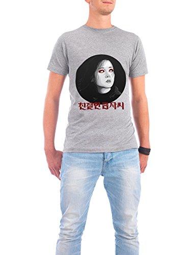 """Design T-Shirt Männer Continental Cotton """"Geum-ja Lee"""" - stylisches Shirt Film Menschen von Pri Floriano Grau"""