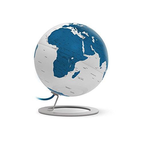 TECNODIDATTICA 0324ig Globo terráqueo Atmosphere i-Globe Light Blue, Azul