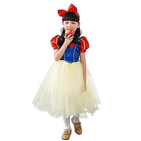 Amurleopard Cosplay Deguisement Enfant Fille Costume Halloween Carnaval Spectacle/Danse/représentation Vampire Comtesse/Sorcier/blanche-neige princesse