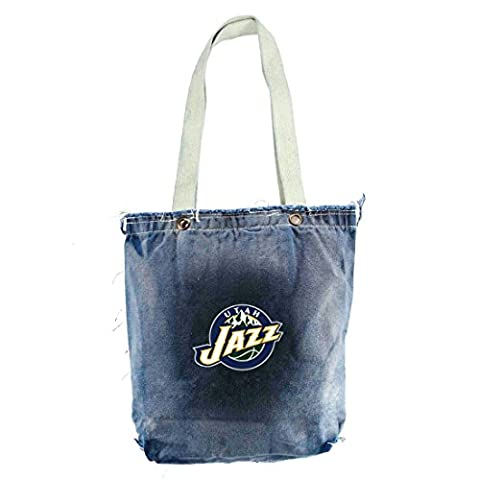NBA Utah Jazz VintageShopper, 13 x 14-Inch, Denim
