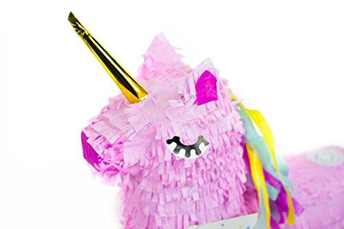 Trendario-Einhorn-Pinata-57x37cm-gro-in-Rosa-Pink-ungefllt-Ideal-zum-Befllen-mit-Sigkeiten-und-Geschenken-Piata-fr-Kindergeburtstag-Spiel-Geschenkidee-Party-Hochzeit