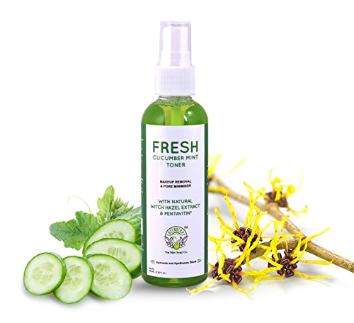 Fresh-Cucumber-Mint-Toner-Natural-Witch-Hazel-Extract-PENTAVITIN-100-ML