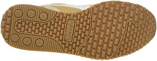 Diadora Titan II, Chaussures de Gymnastique Homme Blanc Cassé (Beige Croissant)