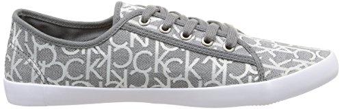 Calvin Klein Jeans Fallon, Chaussures de tennis homme Gris (Pwr)