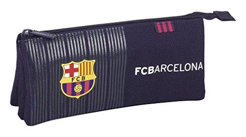 Safta Estuche Escolar F.C.Barcelona 2ª Equipacion 16/17 Oficial 220x30x100mm
