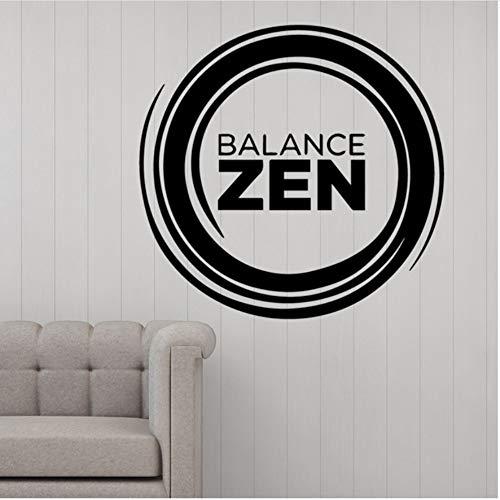 Lovemq 58 * 56 Cm Balance Wandkunst Aufkleber Dekoration Mode Aufkleber Für Kinderzimmer Diy Dekoration Wasserdichte Wandkunst Aufkleber