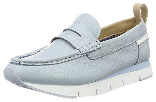 Calvin Klein Jeans Damen Sonora Pebble Calf Slipper Blau (Cby)