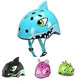 Casco Bicicleta Niños Protección de Cabeza de Seguridad de Dibujos Animados S...