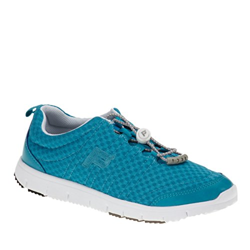Propet Travel Walker II Elite Synthétique Baskets Turquoise