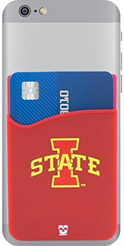 Iowa University Alumni (NCAA Spiel Tag Phone Portemonnaie/Kartenhalter/Sticky Portemonnaie, Iowa State Cyclones)