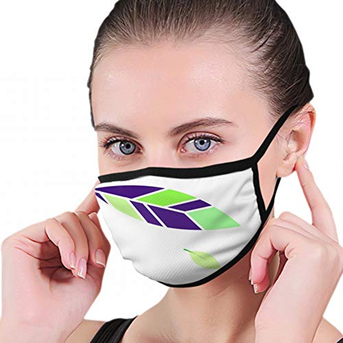 Zusammenfassung Feathers Leaves Anti Air Respirator Atmungsaktive Verschmutzungsmasken Aktivkohlefilter N95 Antibakterielle Gesichtsverschmutzungsmaske - wiederverwendbar, wiederverwendbar, bequem