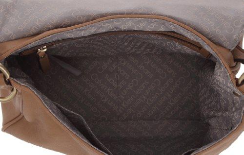 Calvin Klein Jeans Rachel, Borsa Tracolla. Marron (Leather)