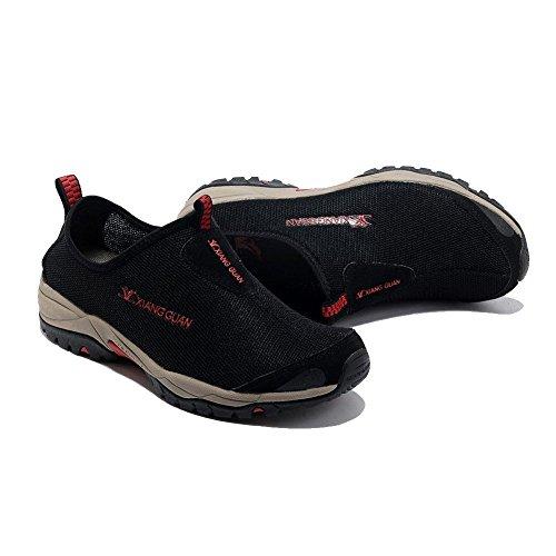 Walking Loafers Schwarz Sport Herren Atmungsaktiv Schuhe Camping Mesh Trekking Xiang Outdoorschuhe Wandern Guan Slipper x7n5YqO8W