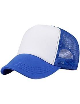 Westeng Sombrero ,Sombrero de Color Sólido,Sombrero de Béisbol,Sombrero de Malla del Verano,1pc