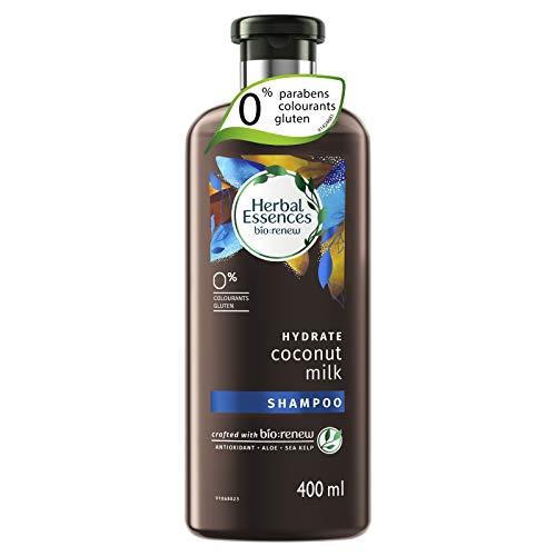 Herbal Essences bio:renew Coconut Milk SHAMPOO, 400ml   No Parabens No Colourants