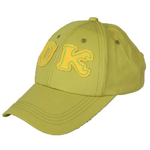 a Hut Justierbare Baseballmütze Embroidery Snapback Cap Monster Grün Peaked Cap Anime Cosplay Zubehör ()