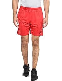 Fritzberg Men's Solid Red Shorts