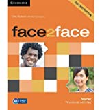 [(Face2face Starter Workbook with Key)] [ By (author) Chris Redston, With Gillie Cunningham ] [July, 2014]