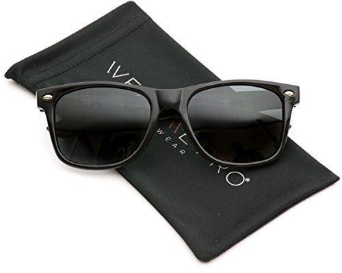 WearMe Pro Adult Wayfarer Sonnenbrille Schwarz