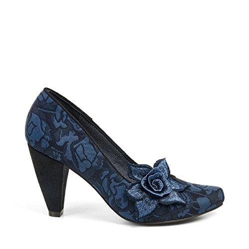 Ruby Shoo Women's Navy Melanie Court Shoe Pumps UK 7 EU 40