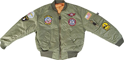 kids-ma-1-vuelo-chaqueta-infantil-ejercito-ropa-us-airforce-bomber-top-gun-piloto-multicolor-verde-s