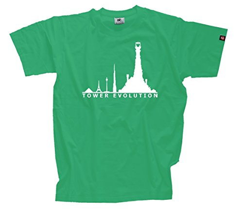 T-Shirt Kelly XXXL Tower Türme Turm Herr der Ringe Evolution