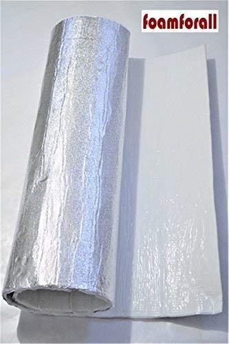 Glasfaser Dämmung Aluminiumbeschichtung selbstklebend 40cm x 100cm x7mm