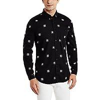 Colt Men's Casual Shirt (8907542591459_271984144_L_Black)
