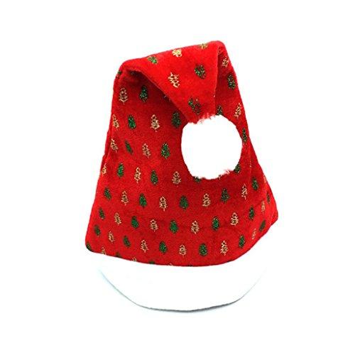 feiliandajj 1PCS Erwachsene Weihnachten Party Santa Hat Kostüm Cap Einheitsgröße (Erwachsene Santa Klassische Für Anzug Kostüme)