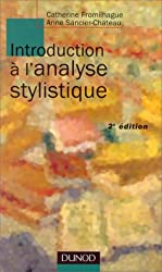Introduction à l'analyse stylistique, nouvelle édition
