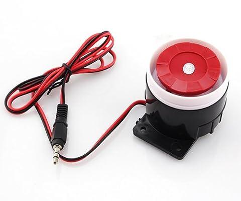 Home Safe alarm120db Sirène d'intérieur pour alarme GSM avec connecteur JACK 3,5 mm