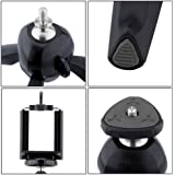 """TRUE STORE , YT-228 7"""" Mini Mobile Tripod With 360° Rotating Ball Head With Mobile Clip For All Android & Iphone Smartphones (Assorted Colour) For SONY XPERIA X8"""